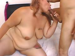 BBW, BBW, Blowjob, Masturbation, Sucking
