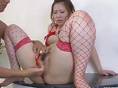 Drilling Ai Yuumi with sex toys is my favouri