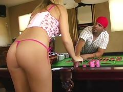 Tasty Alison Angel Plays The Sex Roulette In A Reality Clip