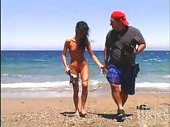 Allure, Allure, Beach, Big Tits, Blowjob, Brunette