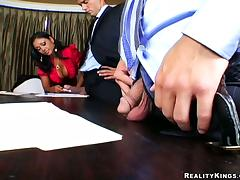 All, Big Tits, Boss, MILF, Office, Reality