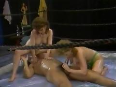 Herschel Takes On 80s Oil Wrasslin' Whores porn video