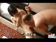 Old and Young, 18 19 Teens, Asian, Boobs, Brunette, Couple