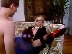 Antique, Blonde, Blowjob, Brunette, Cum, Cumshot