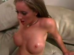 Big titted brunette hardcore pumping
