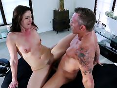 Samantha Ryan fuck with masseur Marcus London porn video