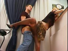 =anal=panty=hose= sc.45 Ninette & Bertram