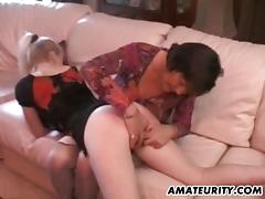 This video has a mature amateur who is fucking some young stud and his girlfriend