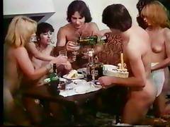 Birthday, Birthday, French, Hairy, Swingers, Vintage