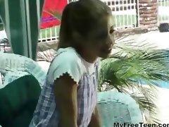 Melody Fucks Older Guy teen amateur teen cumshots swallow dp anal