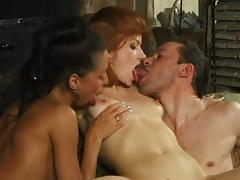 Appetizing Brooke A. And Her Kinky GF Go Hardcore With A Nasty Guy