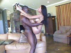 Exquisite Olivia Del Rio Has Interracial Sex With A Muscle Fellow