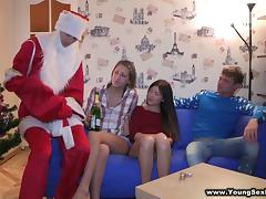 Marvelous Ludmila and Masha Get Fucked Hard By Andy And Ivan
