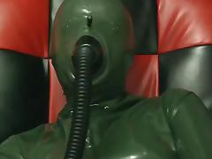 Rubber, Femdom, Latex, Rubber, Mask