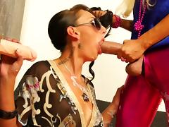 Bizarre, Bizarre, Blowjob, Facial, Fetish, Gloryhole