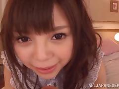 Arousing teen Rina Itou loves having anal sex