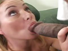 Milf Aline's cunt stretched to the max by BBC