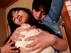Hana Haruna hot Asian milf in hardcore fucking