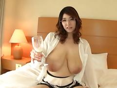 Mio Sakuragi-Breast milk drink Part1 by TOM