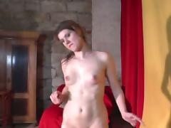 Czech babe Veronika lapdance