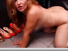 face down and lick heels