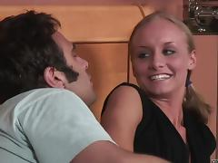 Leah Wilde blows and gets banged in all known positions