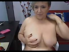 Mature Latina With Big Milky Tits
