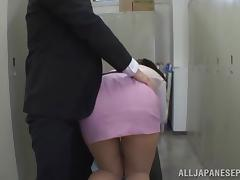 Boss, Asian, Ass, Ass Licking, Babe, Big Cock