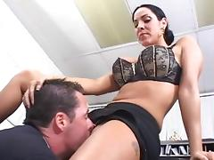 All, Big Tits, Blowjob, Facial, Office, Russian
