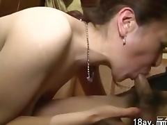 Asian Mature, Asian, Boobs, Couple, Creampie, Japanese