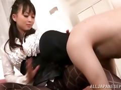Footjob, Angry, Asian, Ass, Babe, Feet