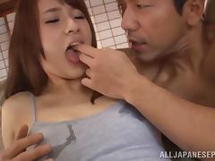 Yui Ooba Asian babe gets to enjoy hot sex toys