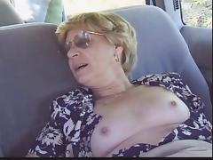 Experienced, Amateur, Backseat, Blonde, Granny, Hairy