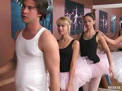 Horny stud fucks his ballet instructor Ms. Zoey Holiday