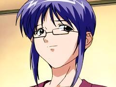 Office, Anime, Glasses, Hentai, Office, Teen