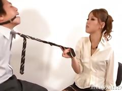 Superb Japanese AV model is a bossy chick