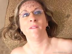 Divine MILF Kitty Lee with big natural boobs gets drilled hard