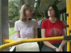 Bus, Bus, Flashing, Funny, Public, Riding