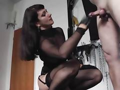 Caught, BDSM, Caught, Femdom, Latex, Ballbusting