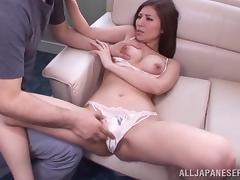 Japanese, Asian, Couple, Fingering, Japanese, Panties