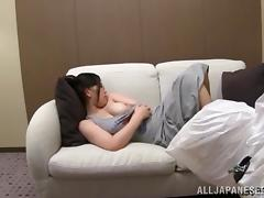 Striking Chihaya Yutsuk Performs A Great titjob In A POV Video