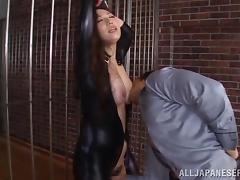 BDSM sex with the beautiful Asian babe Sayuki Kanno