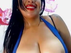 big boobs camgirl fucking dildo