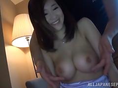 Tempting milf gets her juicy pink pussy screwed hard