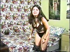 Busty Jade is fucked by a guy in hardcore vintage video