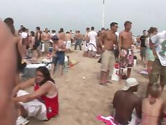 Hot Bikini Babes Party at the Beach