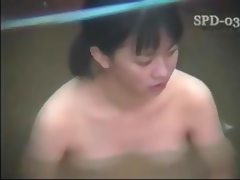 Hot asian taking a bath Bath