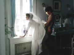 Anal, Anal, Bride, Stockings, Wedding, Vintage