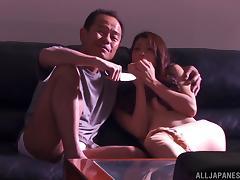 Japanese, Asian, Banging, Couple, Creampie, Cumshot