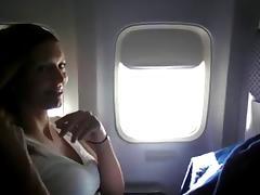 crv - woman masturbating on plane